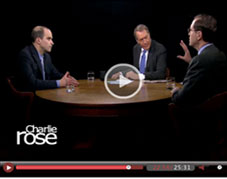 Glenn Hubbard with Charlie Rose
